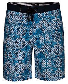 "Hurley Men's Groovy Printed 20"" Board Shorts"