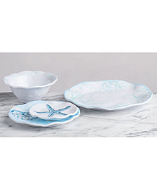 Q Squared Captiva Melamine Dinnerware Collection
