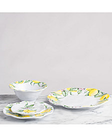 Q Squared Limonata Melamine Dinnerware Collection
