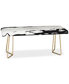 Deny Designs Julia Da Rocha Inkblot Bench