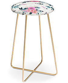 Deny Designs Iveta Abolina Neverending August Counter Stool
