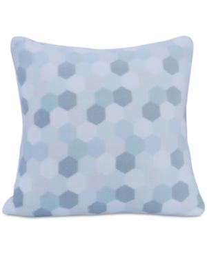 Berkshire Tonal HoneycombPrint 18 Square Plush Decorative Pillow