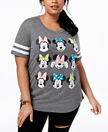 Disney Plus Size Minnie Mouse Graphic T-Shirt