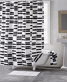 "DKNY High Rise Cotton 72"" x 72"" Shower Curtain"