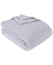 "Berkshire PrimaLush™ Pebbles Embossed 60"" x 90"" Twin Bed Blanket"