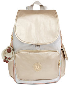 Kipling City Pack Metallic Backpack