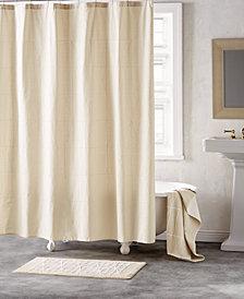 "DKNY Geometrix Cotton 72"" x 72"" Shower Curtain"