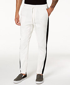 Jaywalker Men's Side Striped Twill Track Pants