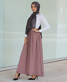 Verona Collection High-Waist Maxi Skirt
