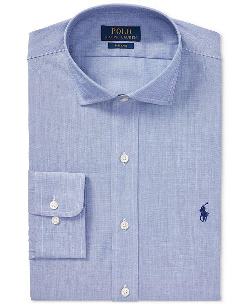 9314dbad ... Polo Ralph Lauren Men's Classic Fit Cotton Easy Care Dress Shirt ...