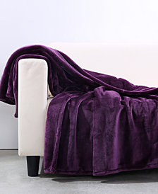 "Berkshire VelvetLoft Heavyweight 50"" x 60"" Plush Throw"