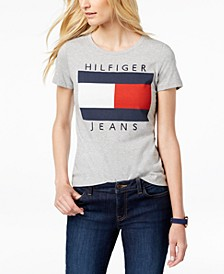 Cotton Embroidered Logo T-Shirt, Created for Macy's