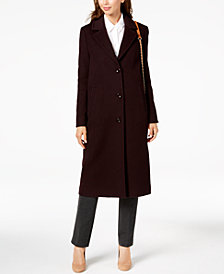 Jones New York Notch-Collar Coat