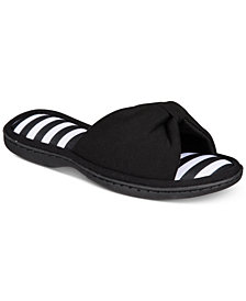 Gold Toe Women's Lizbeth Solid & Striped Bow Slides