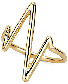 Sarah Chole Heartbeat Ring in 14k Gold