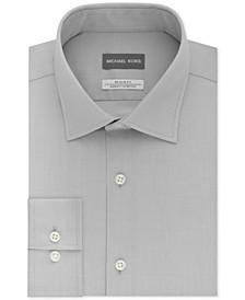 Men's Slim Fit Airsoft Performance Stretch Non-Iron Dress Shirt