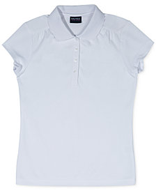 Nautica Big Girls Plus Performance Polo Shirt