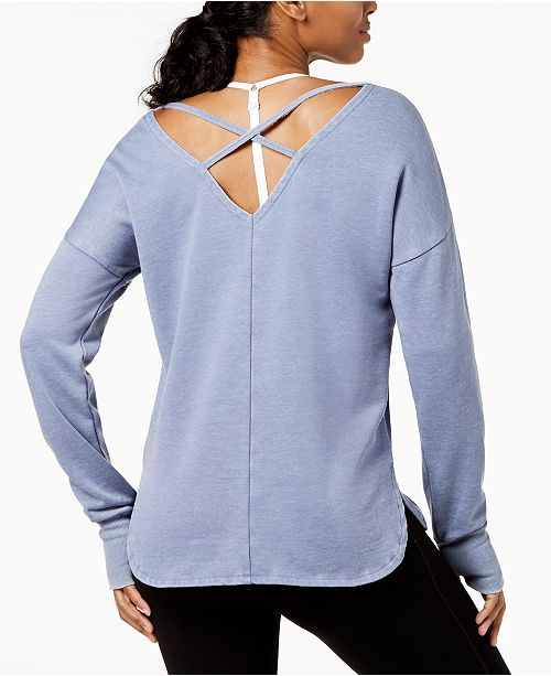 for Graphic Long Sleeve Infinity Macy's Strappy Created Top Ideology Back AqTZpwRw