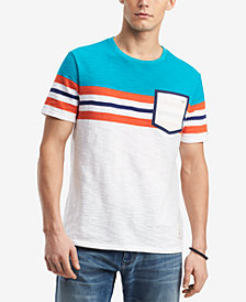 Tommy Hilfiger Men's Pocket Stripe T-Shirt, Created for Macy's