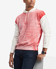 Tommy Hilfiger Denim Men's Color Block Hoodie, Created for Macy's