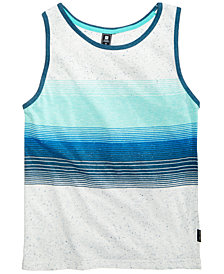 Ocean Current Big Boys Tackle Striped Tank Top