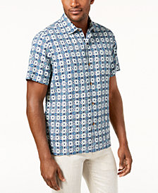 Tommy Bahama Men's Tulum Tiles Silk Shirt