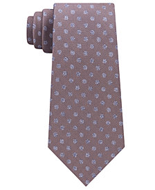 Michael Kors Men's Dot & Dash Silk Tie