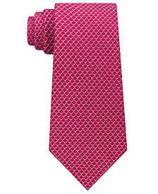 Michael Kors Men's Scale Pattern Silk Tie