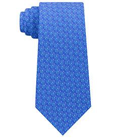 Michael Kors Men's Geometric Pattern Silk Tie