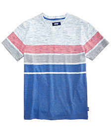 Univibe Big Boys Variable Striped T-Shirt