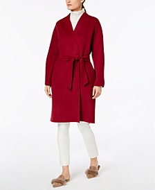 Weekend Max Mara Virgin Wool Belted Jacket