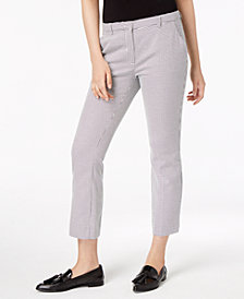 Weekend Max Mara Pavento Straight-Leg Ankle Pants