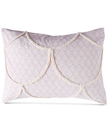 Peri Home Chenille Scallop King Sham