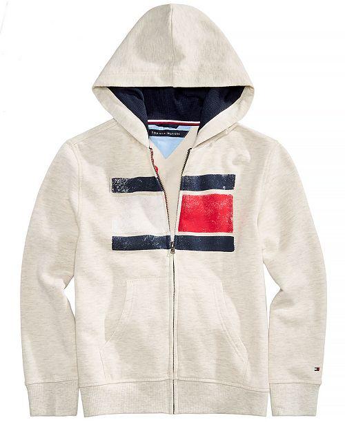 Little Boys Back Art Full-Zip Hooded Sweatshirt