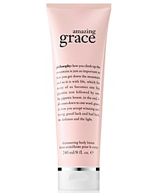 Amazing Grace Shimmering Body Lotion, 8-oz.