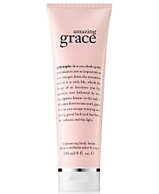 philosophy Amazing Grace Shimmering Body Lotion, 8-oz.