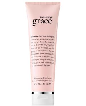 philosophy Amazing Grace Shimmering Body Lotion, 8-oz.