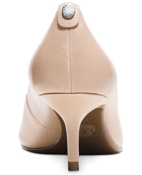 bda86bac16 Michael Kors MK Flex Kitten Heel Pumps & Reviews - Pumps - Shoes ...