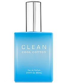 CLEAN Fragrance Cool Cotton Eau de Parfum, 2.14-oz.