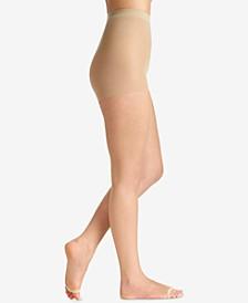 Women's  Ultra Sheer Toeless Control Top Pantyhose 5115