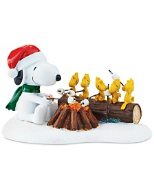 Department 56 Villages Snoopy Campfire Buddies