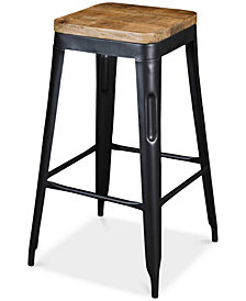 Barstools (Set of 2), Quick Ship