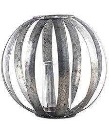 """Home Essentials 8"""" Galvanized Sphere Votive Lantern"""