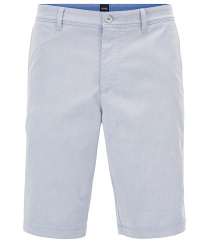 Slim-fit shorts in two-tone Italian stretch twill BOSS xLkcbqtZoO