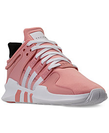 adidas Girls' EQT Support ADV Casual Athletic Sneakers from Finish Line