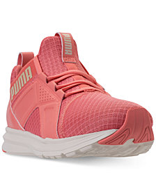 Puma Women's Enzo Premium Mesh Casual Sneakers from Finish Line