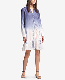 DKNY Ombré Shirtdress, Created for Macy's