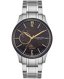 Kenneth Cole New York Men's Automatic Two-Tone Stainless Steel Bracelet Watch 42.5mm