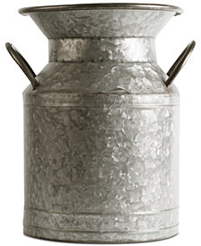 Home Essentials Galvanized Small Flower Bucket