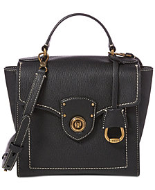 Lauren Ralph Lauren Millbrook Top Handle  Crossbody
